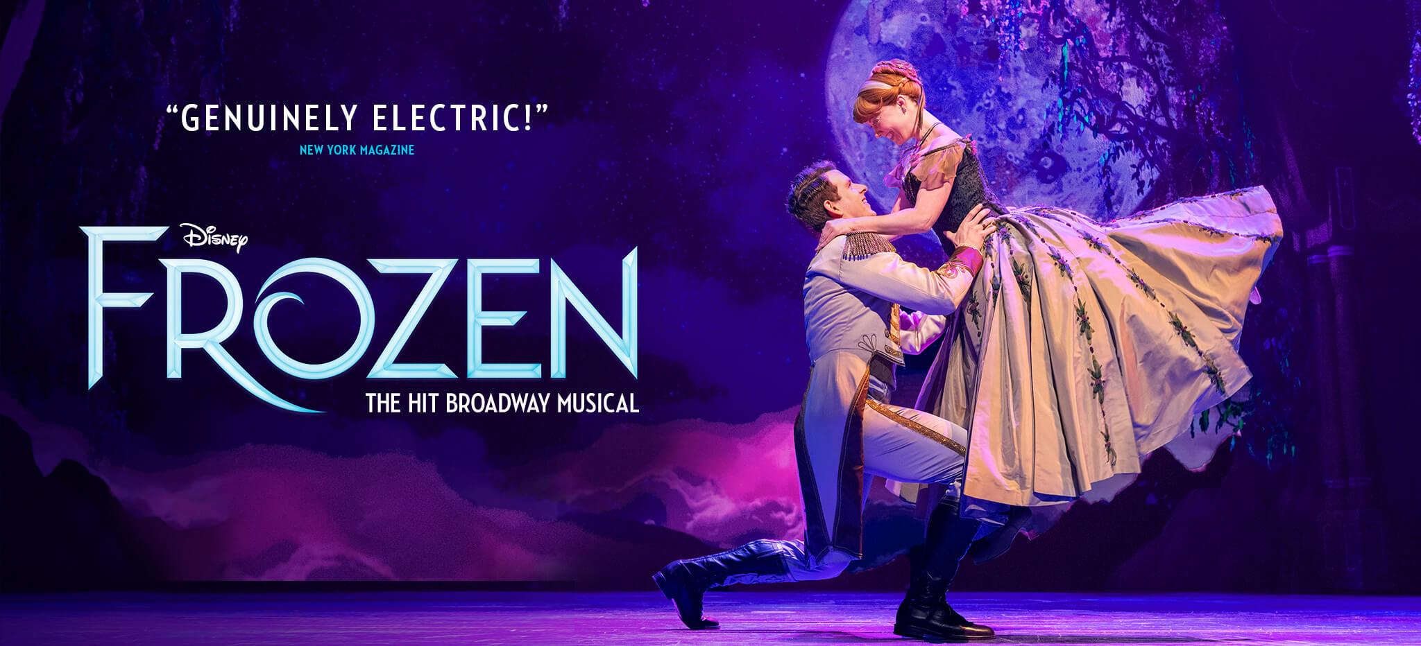 Disney FROZEN | The Broadway Musical – Homepage